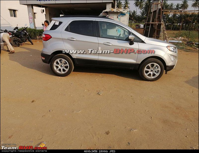 Ford Ecosport all wheel drive image