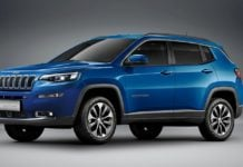 Jeep Compass Facelift Rendering