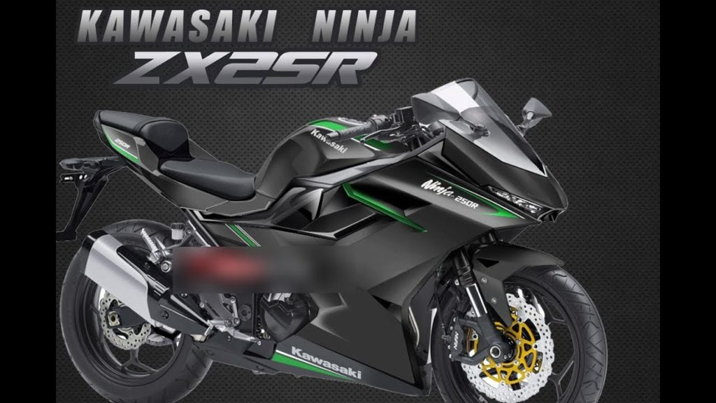 Kawasaki Ninja ZX-25R Rendering
