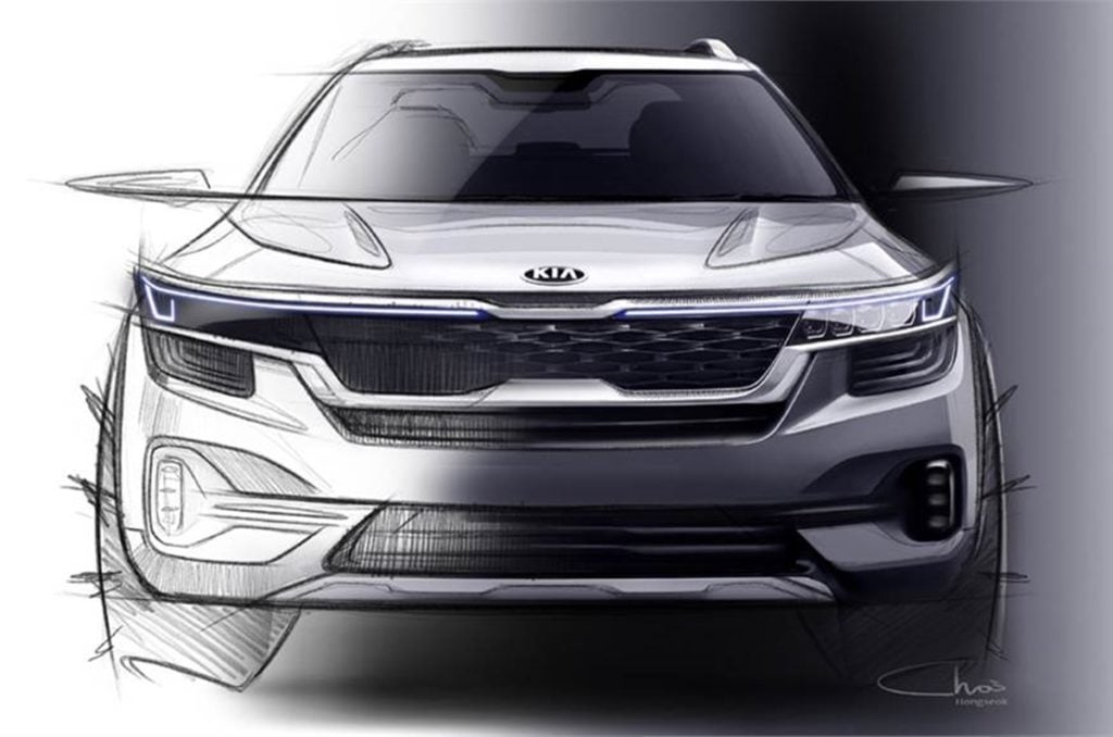 Kia SP SUV Front