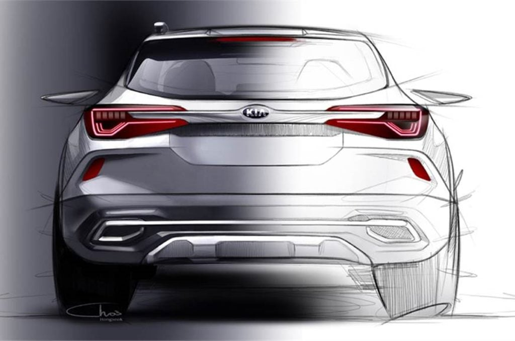 Kia SP SUV Rear
