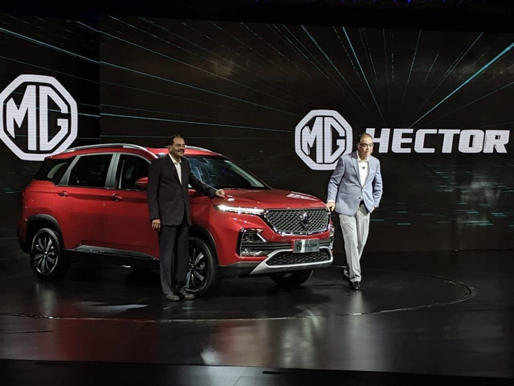 7 Seater Mg Hector Launch Confirmed For Early 2020