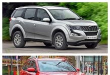 MG Hector vs Mahindra XUV500