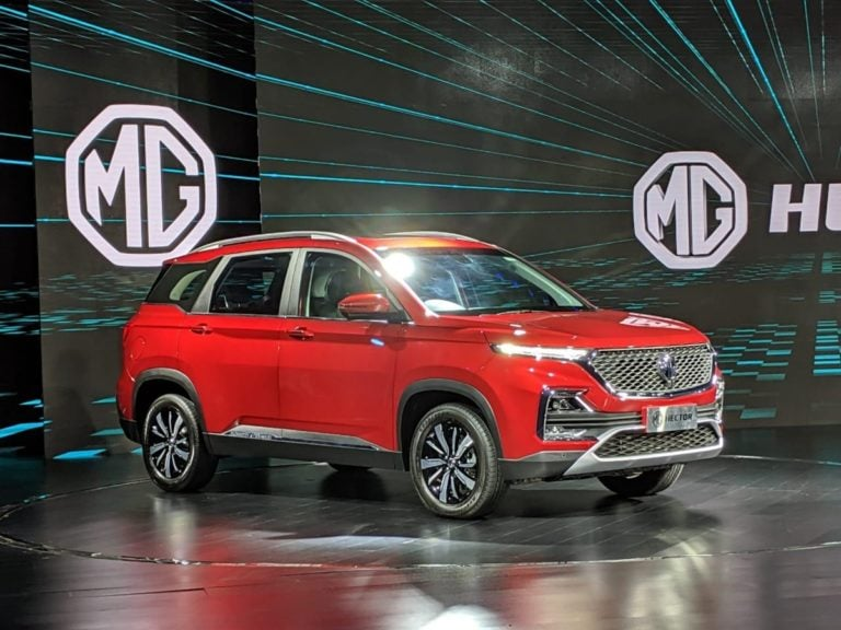 MG Hector Arrives at Dealerships – First Walkaround video from Showroom