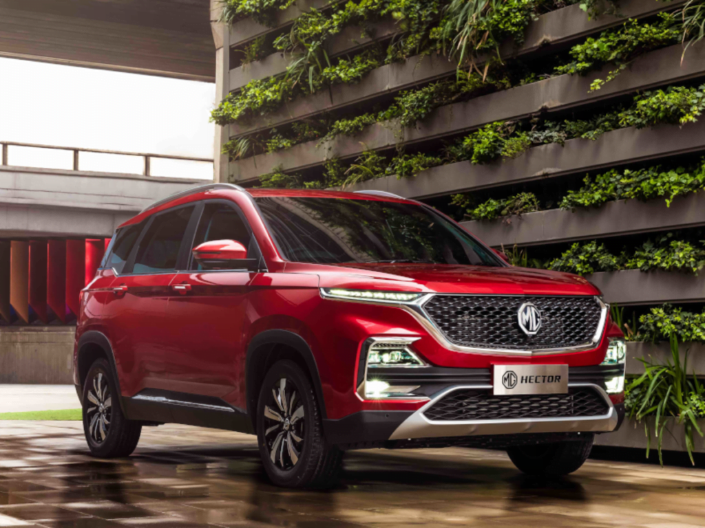 MG Hector at its launch in Mumbai