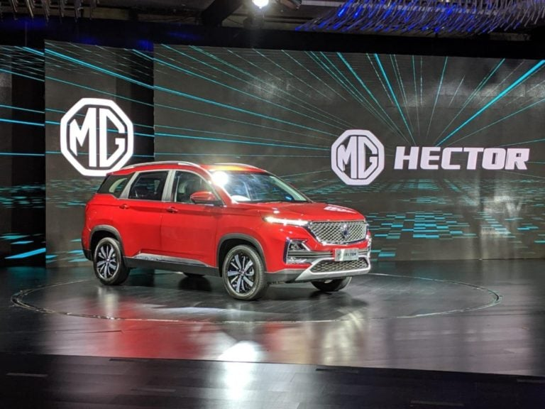 MG Hector – Top 5 First in-class Segment Features