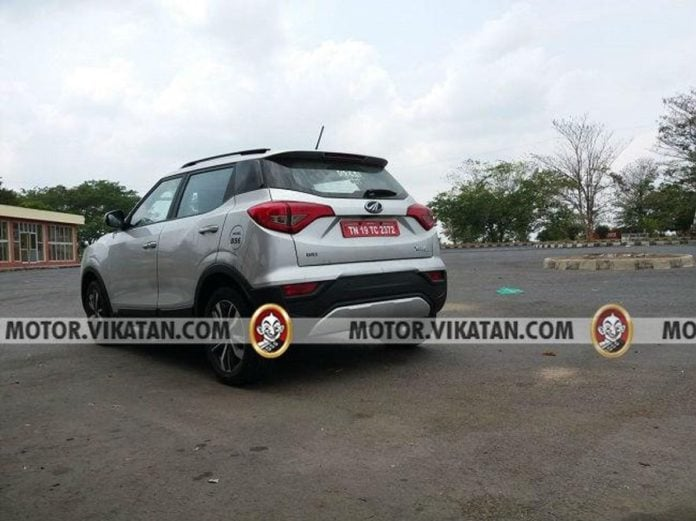 Mahindra XUV300 BS-VI spotted for the first time
