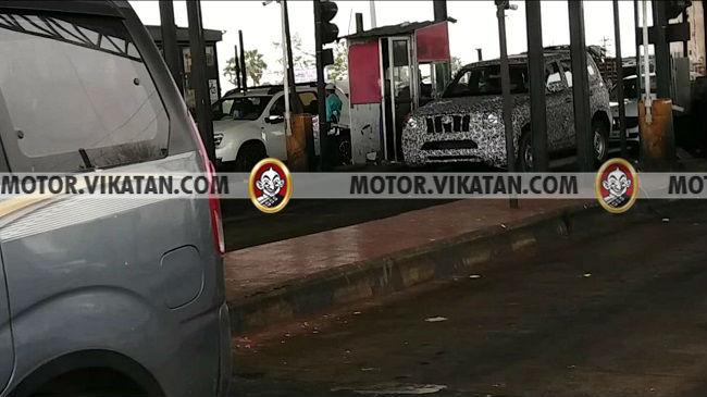 New Mahindra Scorpio Spotted Testing; Launch Expected in 2020
