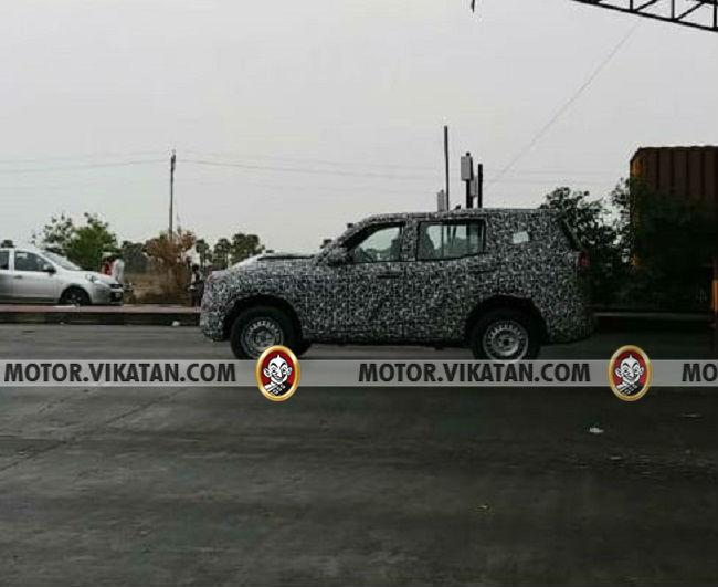 New Mahindra Scorpio side image