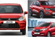Maruti Alto 800 facelift vs competition image