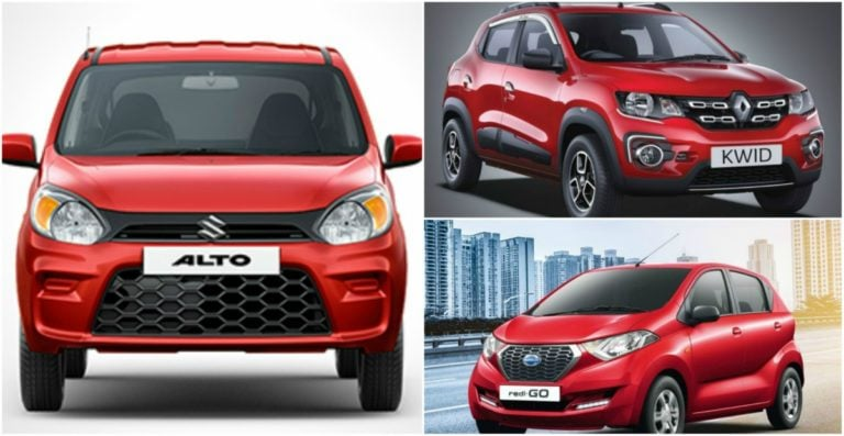 Maruti Alto 800 facelift vs competition – Engine, Dimensions & Price comparison