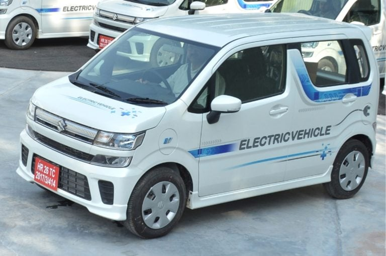 Maruti Suzuki Wagon R EV Spied Testing – Prices and Launch Expectations