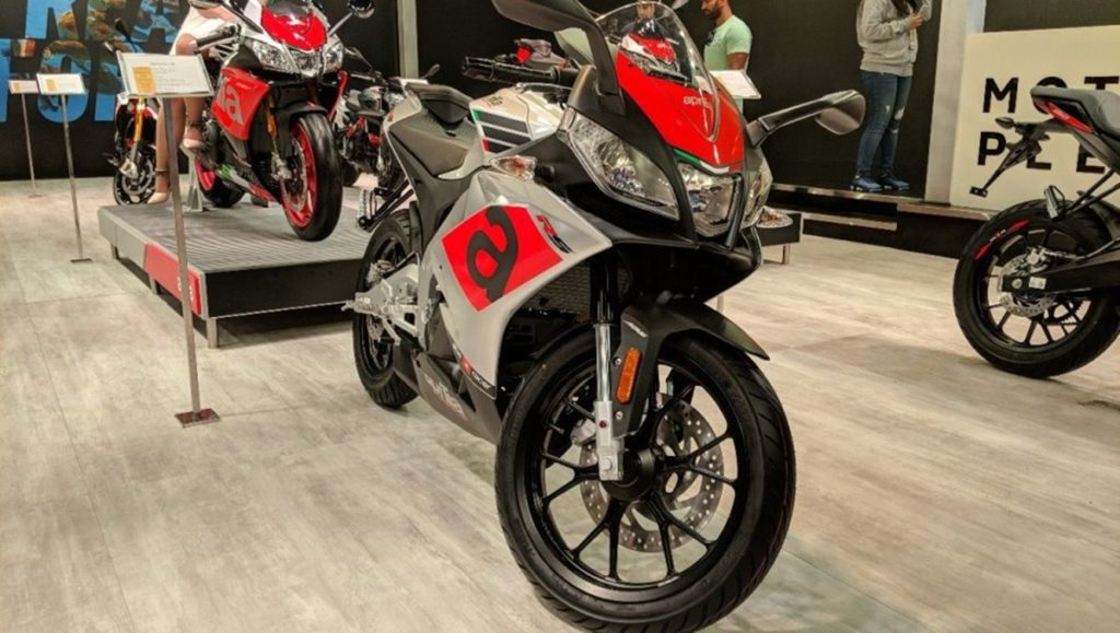 RS 150 showcased at the Auto Expo, 2018