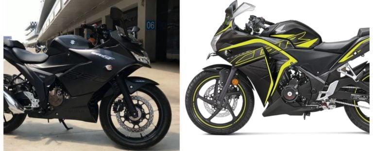 Suzuki Gixxer SF 250 Vs Honda CBR250R – Specification Comparison