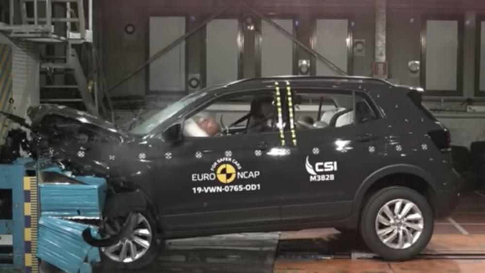 Volkswagen T-Cross Safety Test