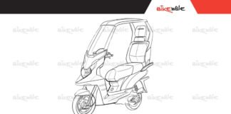 TVS electric scooter concept
