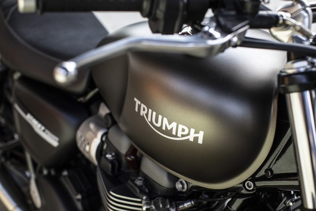 Triumph is developing a new electric motorcycle