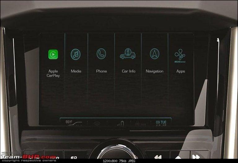 Mahindra XUV500 to get Apple CarPlay on the W11(O) top variant!