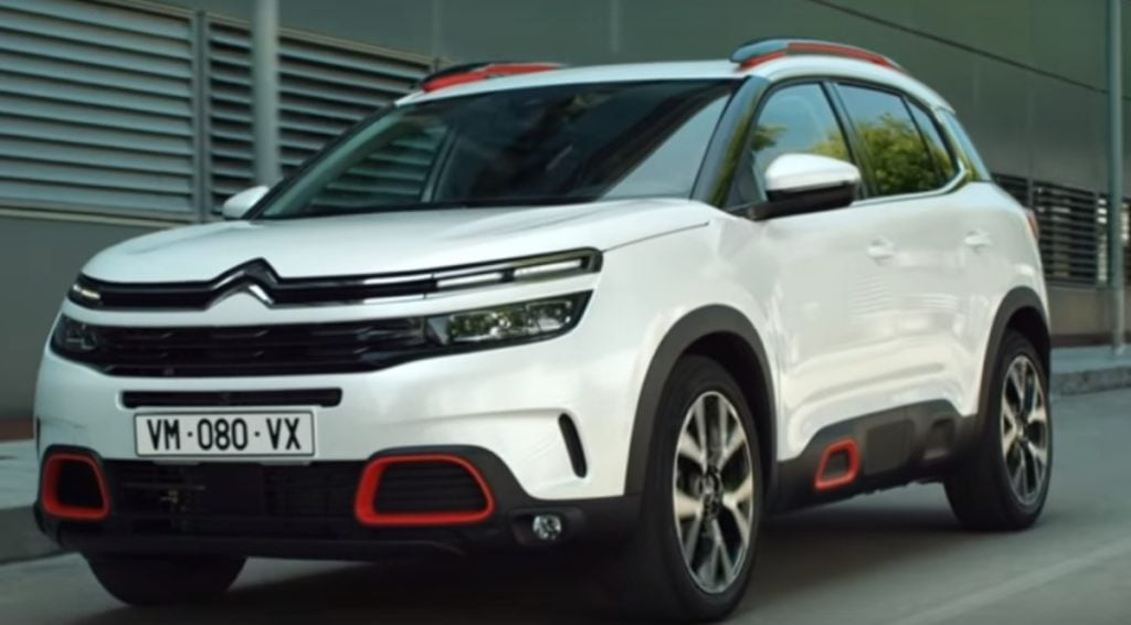 Citroen will make its India debut with the C5 aircross