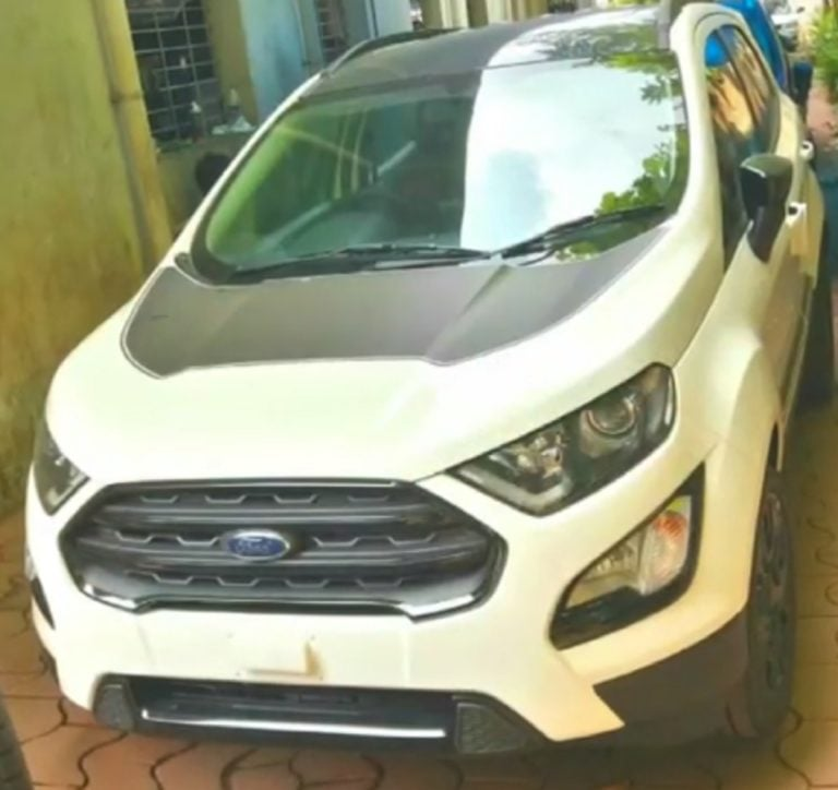 Ford Ecosport Thunder Edition spotted – Launch soon