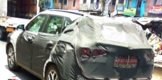 Kia SP2i spied in India image
