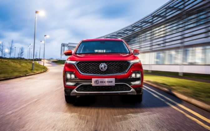 MG Hector SUV to be sold through 65 dealerships across India. Bookings commence from June