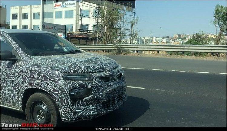 Renault Kwid Base Variant spotted – Details