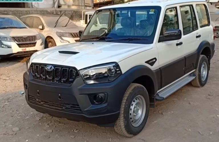 Mahindra Scorpio base variant gets updated with safety features – Video