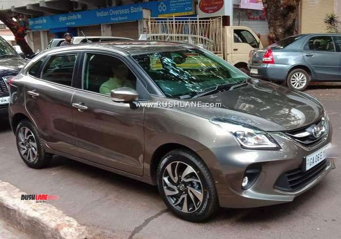 Toyota Glanza spied in Goa – Prepping up for  TVC shoot!