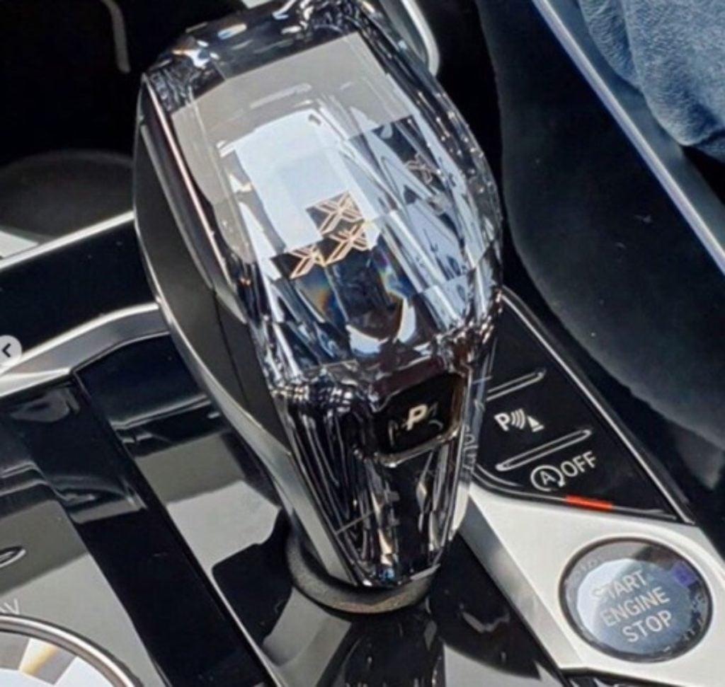 BMW X7 gearbox image