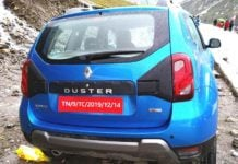 Renault Duster Facelift rear image