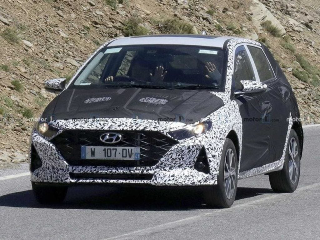 2020 Hyundai i20 Spotted testing in Europe