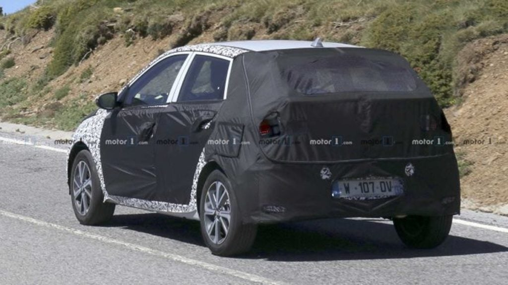 Next-gen Hyundai i20 rear