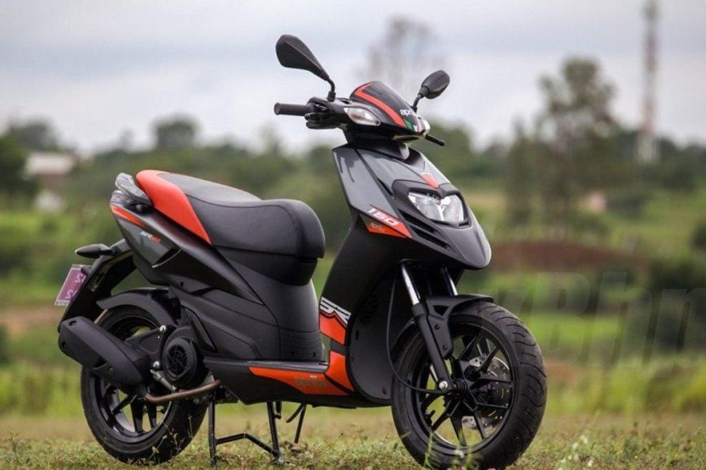 Aprilia SR 150, Aprilia's most selling scooter in India