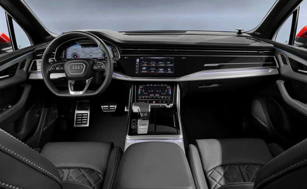 Audi Q7 facelift interiors