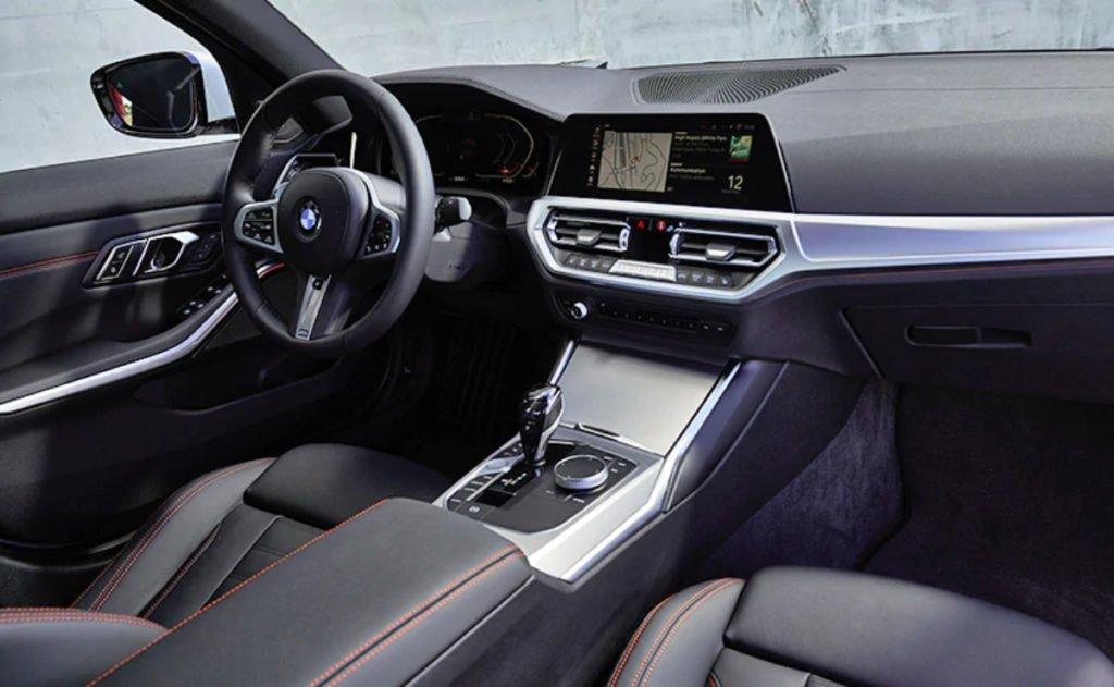 New BMW 3-series interiors