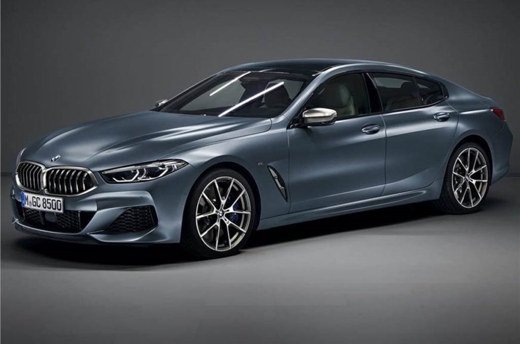 BMW 8-Series Gran Coupe Internationally Revealed; Launch