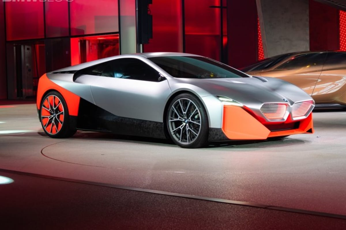 Bmw Vision M Next Concept Unveiled Draws Inspiration From M1