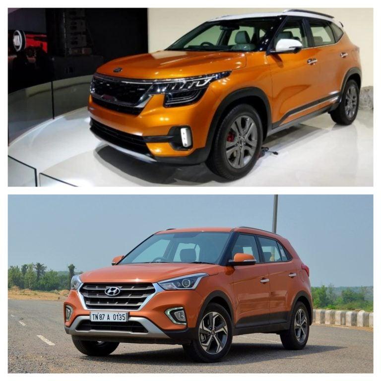 Kia Seltos vs Hyundai Creta – Specifications Comparison