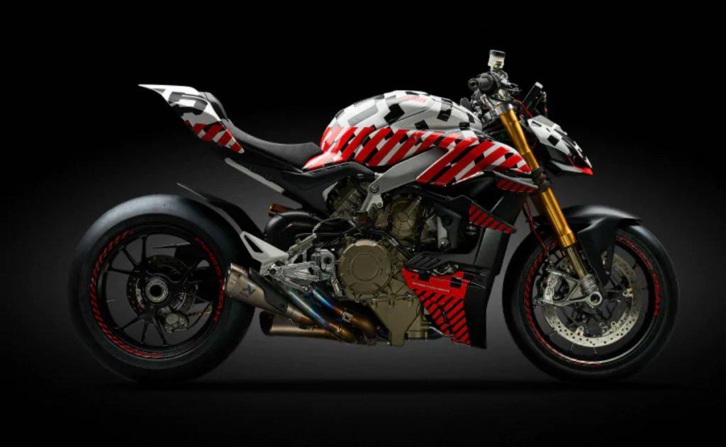 Ducati Streetfighter V4 Prototype Oficially Revealed