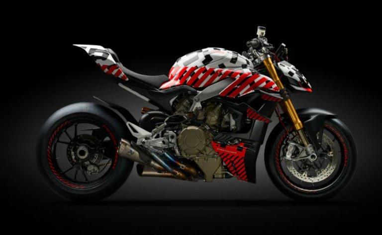 Ducati Streetfighter V4 Prototype Officially Revealed
