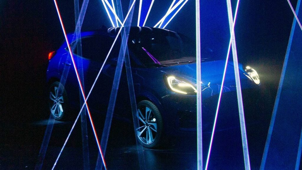 Ford Puma teased earlier this year