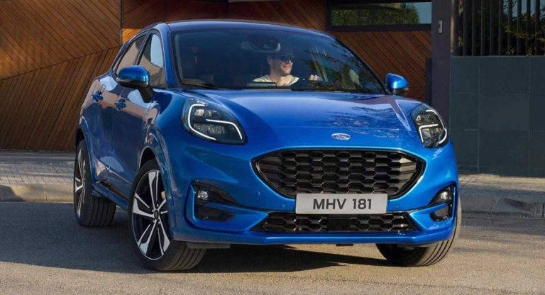 Ford Puma Compact Crossover Breaks Cover – Could Come To India