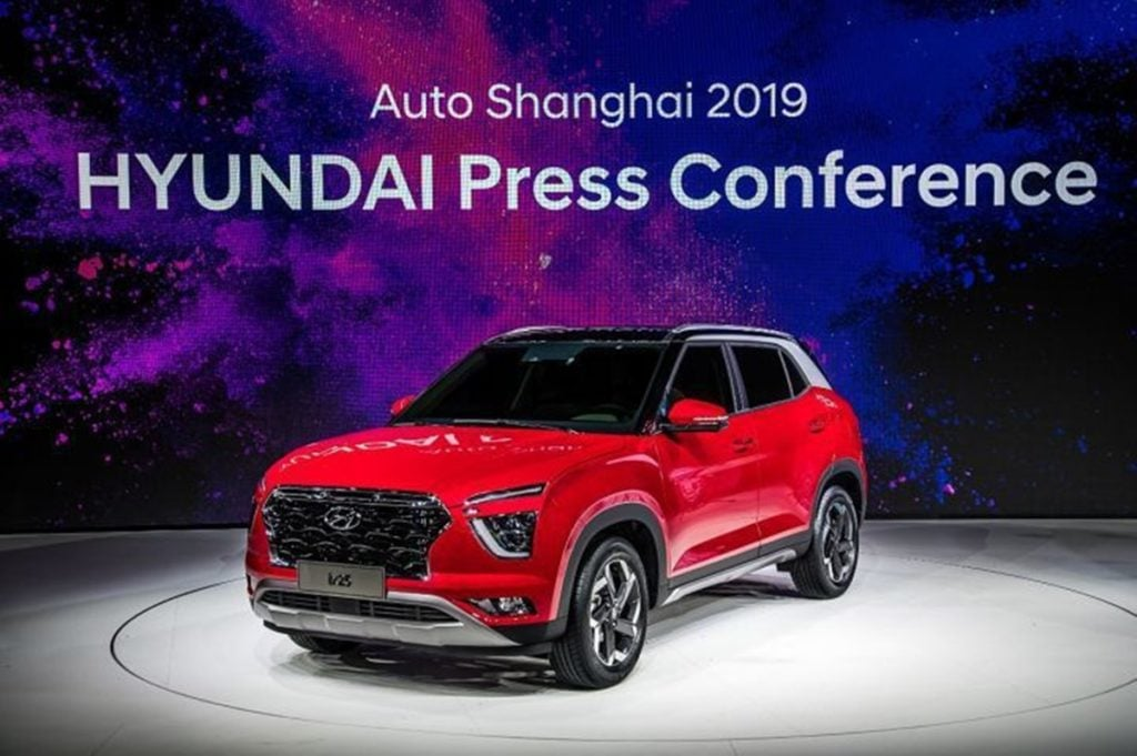 Next-gen Hyundai Creta for the Chinese Market at the 2019 Shanghai Motor Show