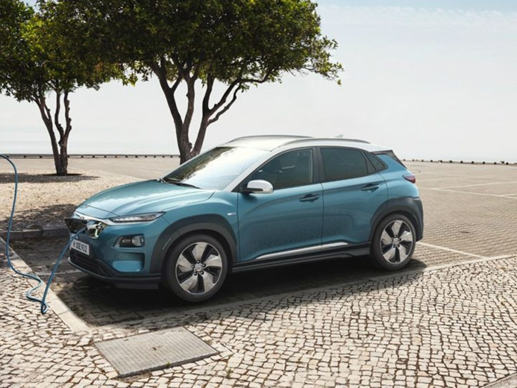 Hyundai Kona wouldn't get a fast charger for domestic use.