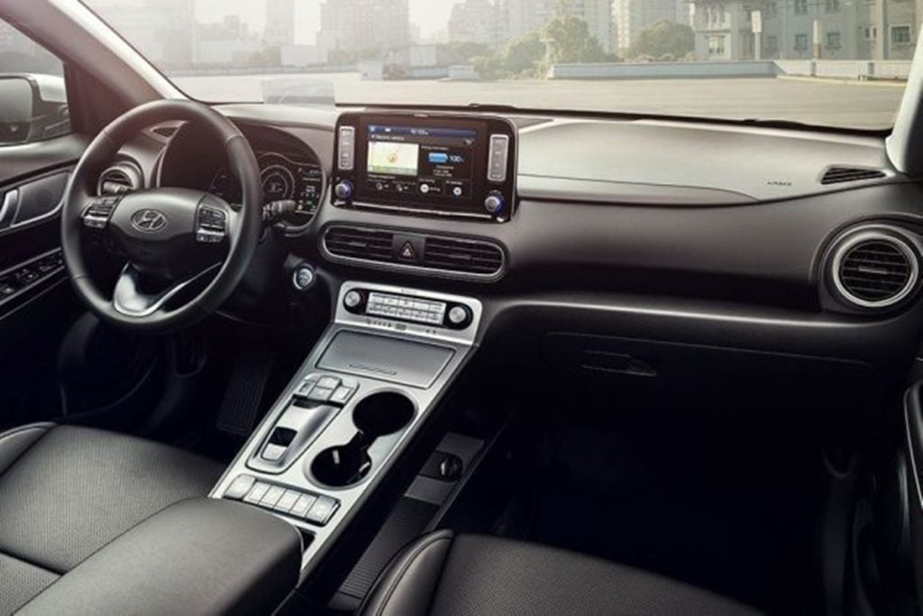 Hyundai Kona interiors