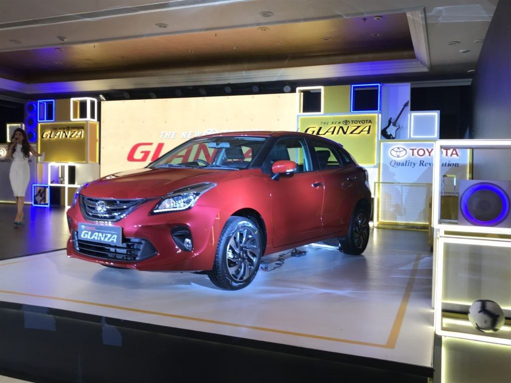 Toyota Glanza Variant Image