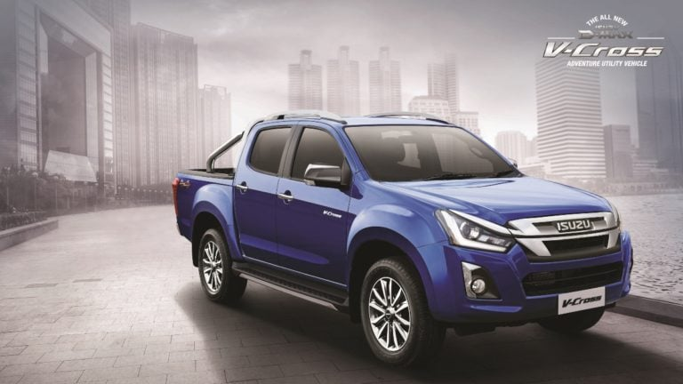 2019 Isuzu D-Max V-Cross Facelift Launched – Prices And New Features