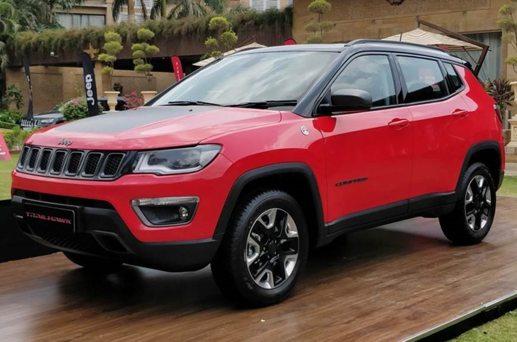 Jeep Compass Trailhawk Front