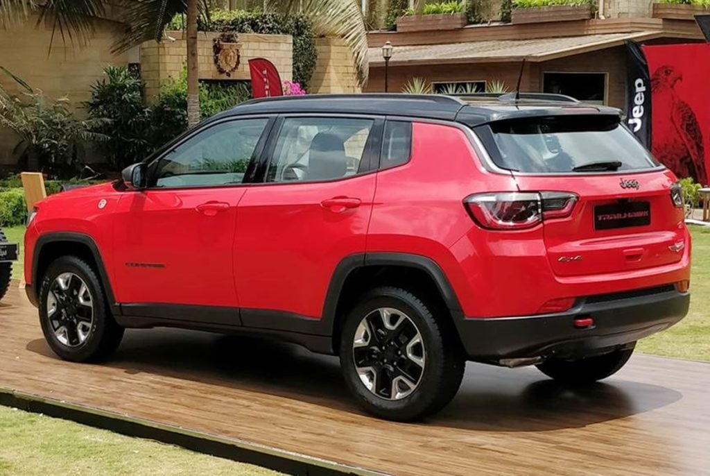 Jeep Compass Trailhawk at its unveiling